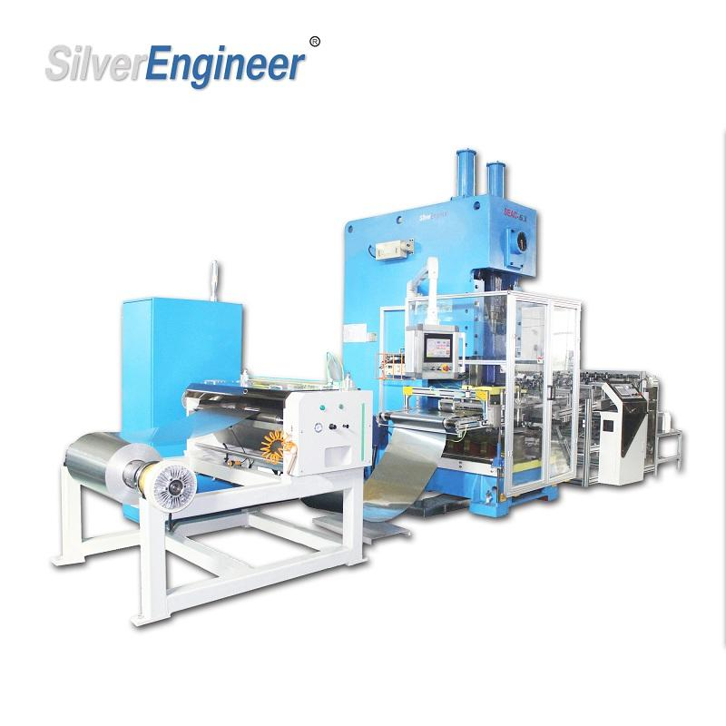 China Best Smart Aluminum Foil Container Making Machine From Silverengineer