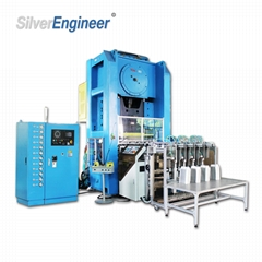 Automatic Aluminum Foil Container Making Machine 130Ton