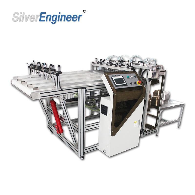Aluminum foil boxes production equipment for India 4
