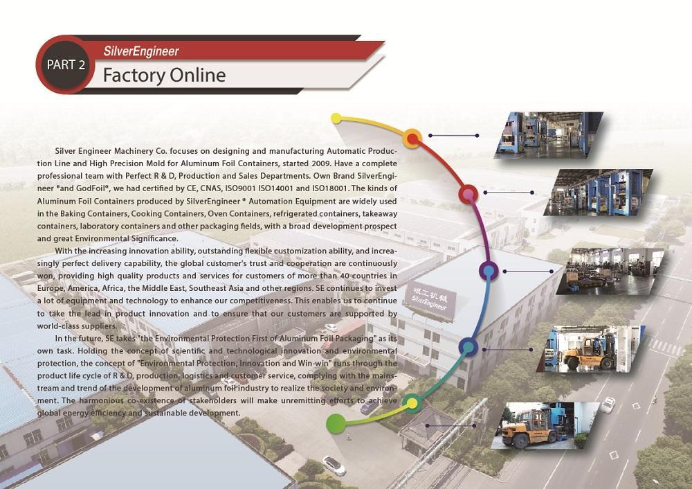 Aluminum foil boxes production equipment for India 8