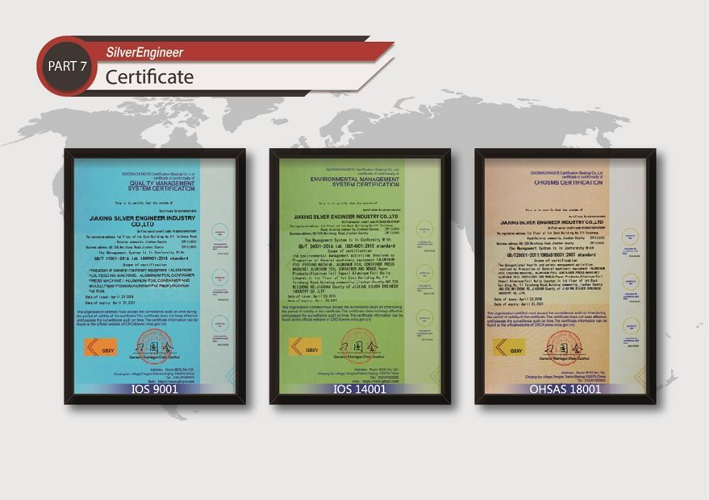 Aluminum foil boxes production equipment for India 11