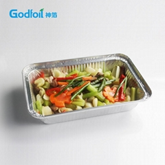 Kitchen use aluminum foil container/750ml