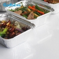 Takeaway Disposable Cake Oven Safe Aluminum Foil Hot Food Container Sizes