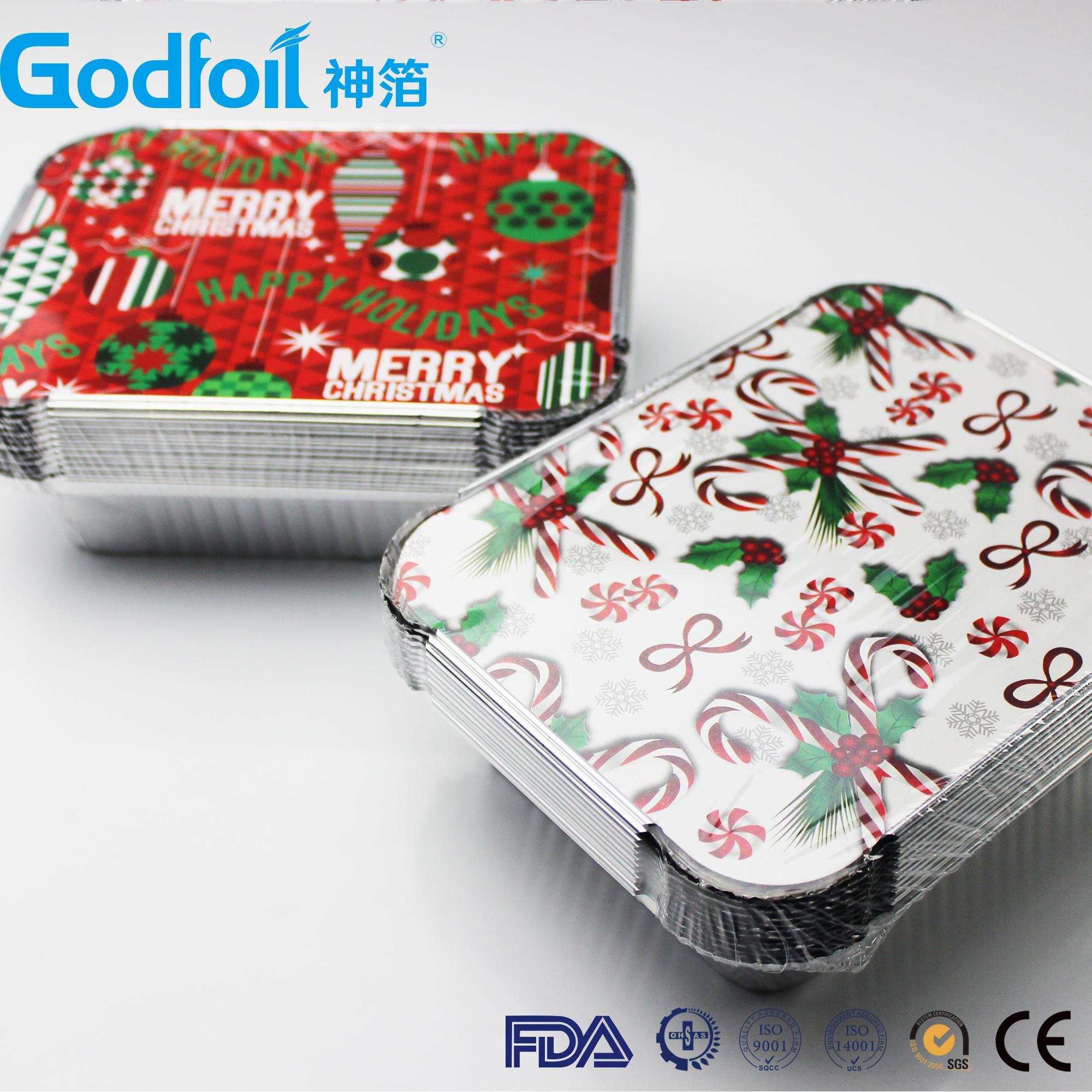 Aluminum foil container lids aluminum foil container cover