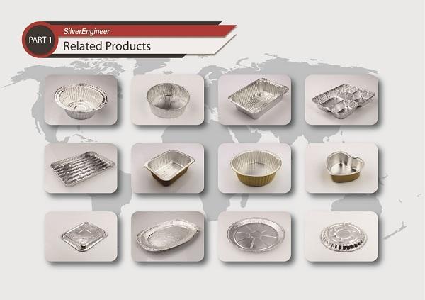 Anti-Curl Laminated Paper Board Lids For Aluminum Foil Container 7