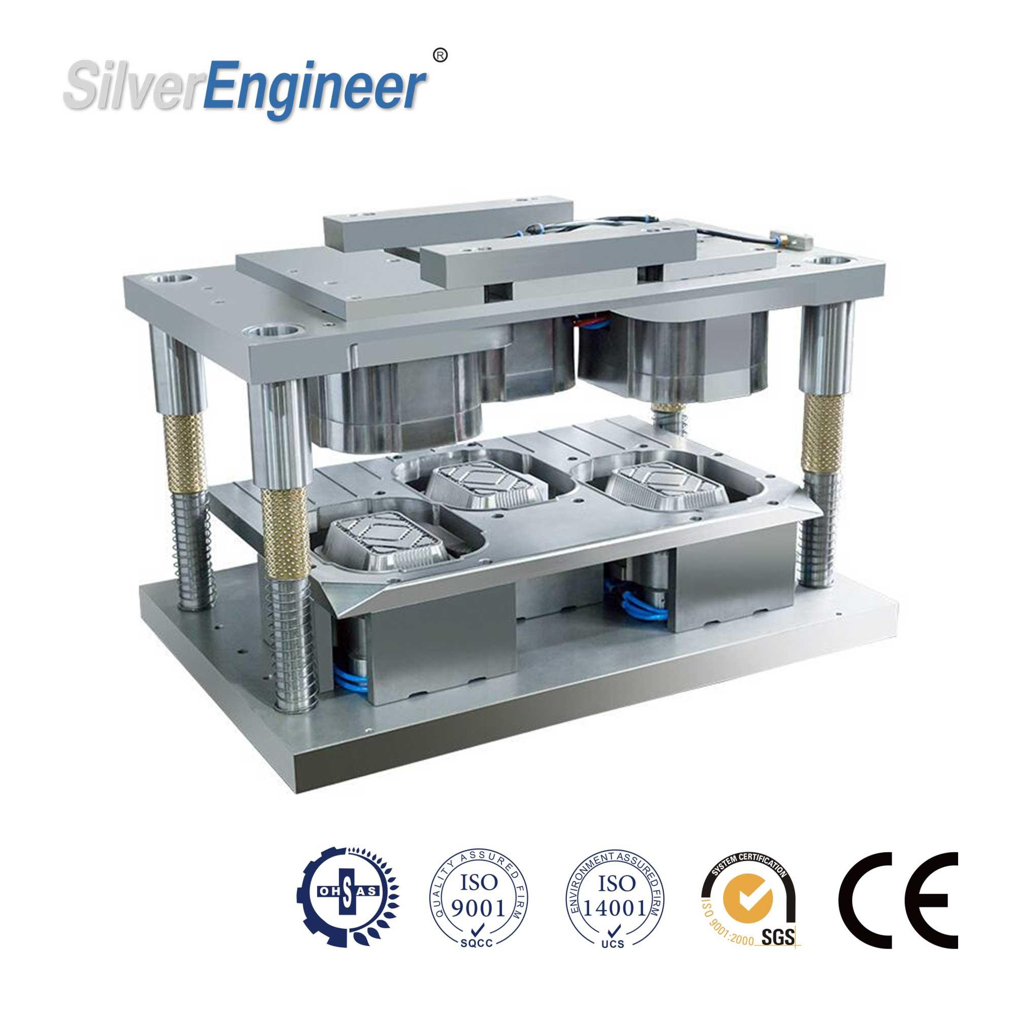 Automatic Aluminum Foil Container Making Machine 130Ton 18