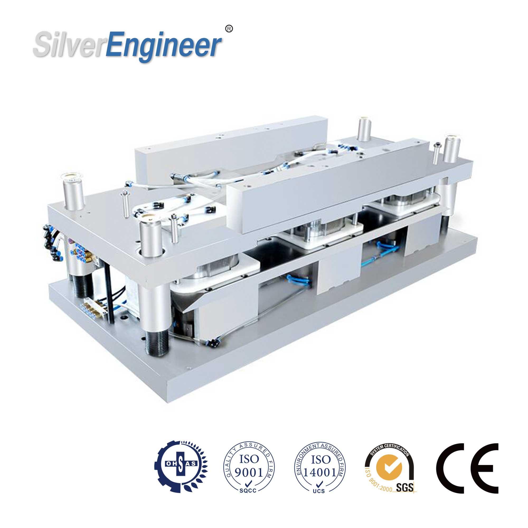 Automatic Aluminum Foil Container Making Machine 130Ton 19