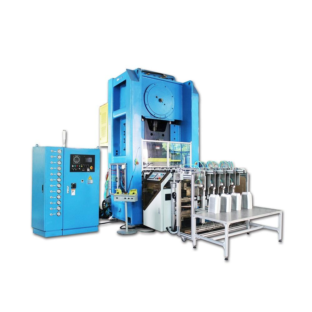 Real Chinese Automatic Aluminum Foil Container Production Line 1