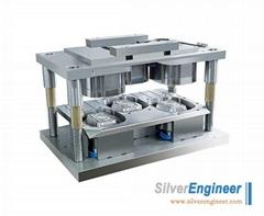Aluminum Foil Container Platter Mould