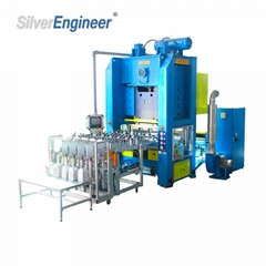 Ce ISO Certification Aluminium Foil Container Production Making Machine