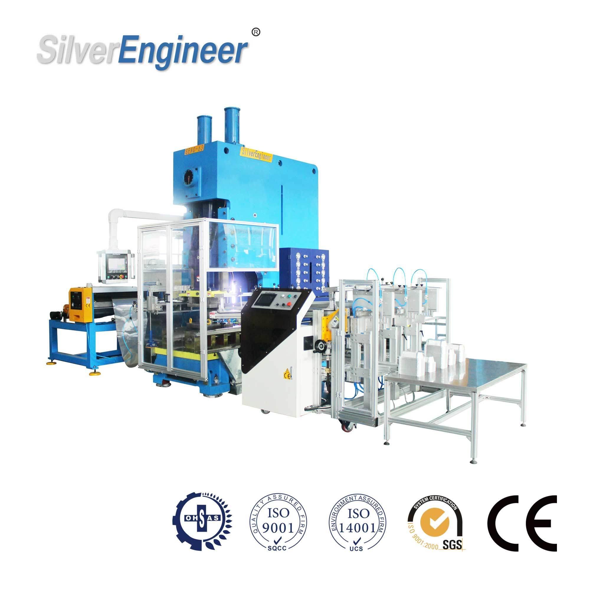 Aluminium Foil Container Machine for Indian