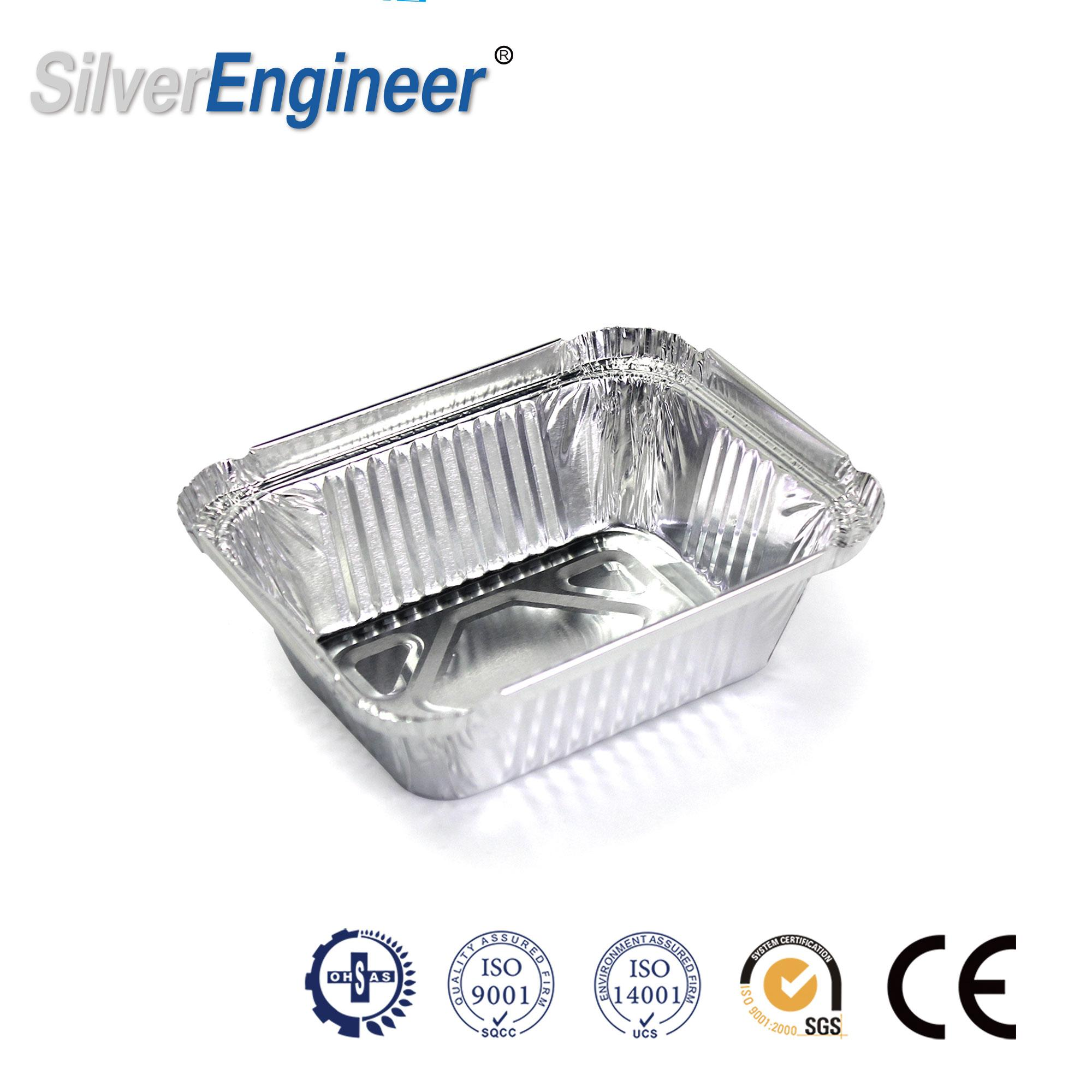 250ML Aluminum Foil Container Mould for Indian 7