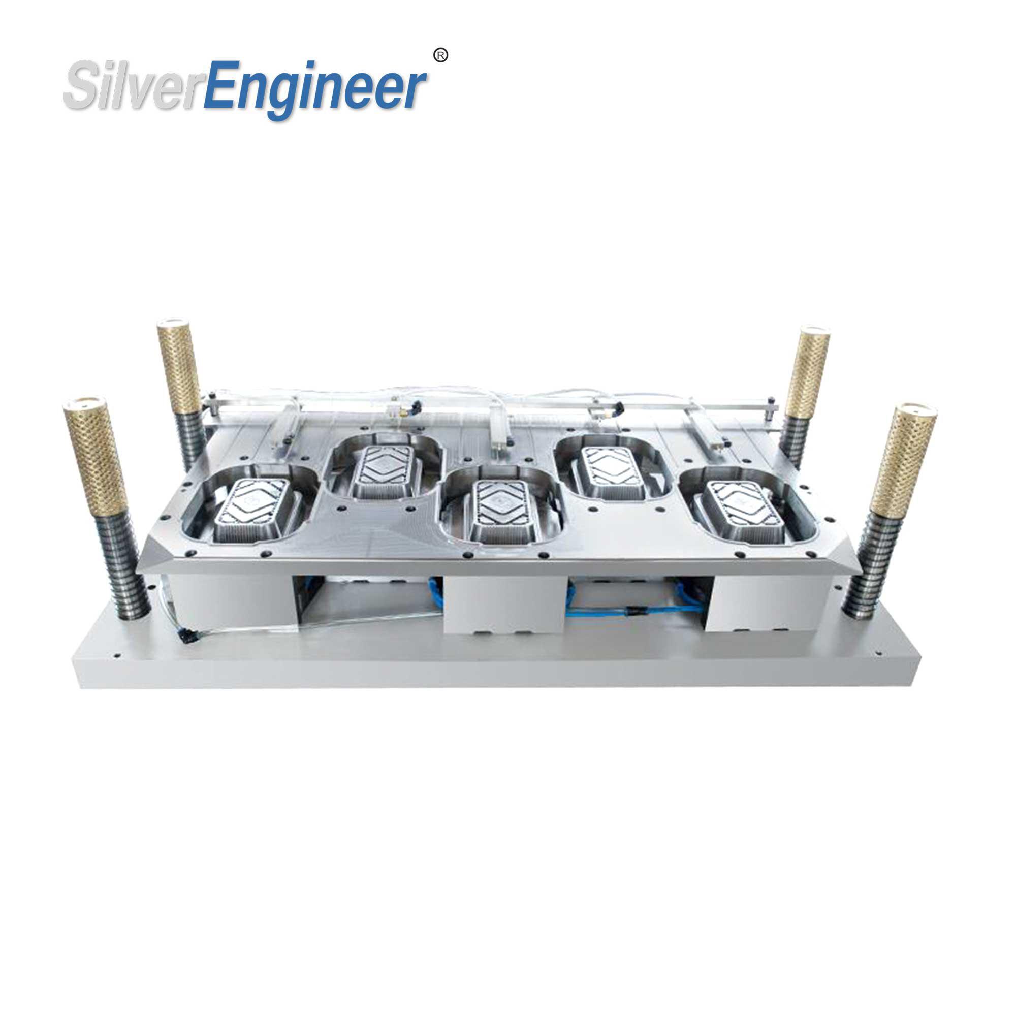 450ml铝箔餐盒模具 2