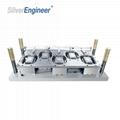 1512铝箔餐盒模具