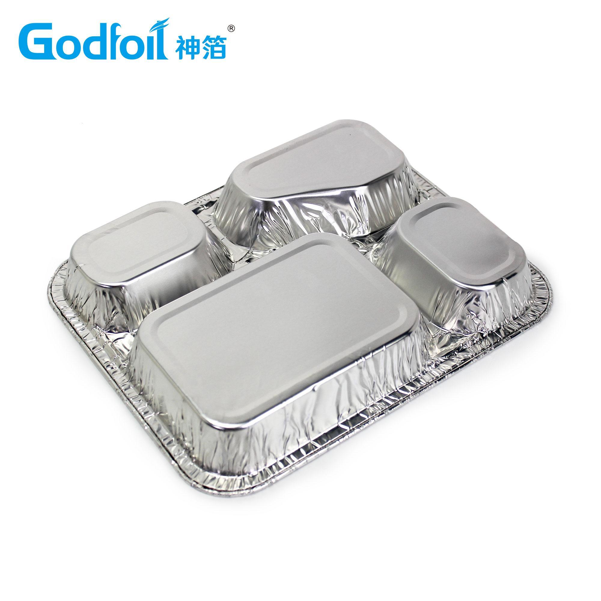 三腔餐盒模具 2