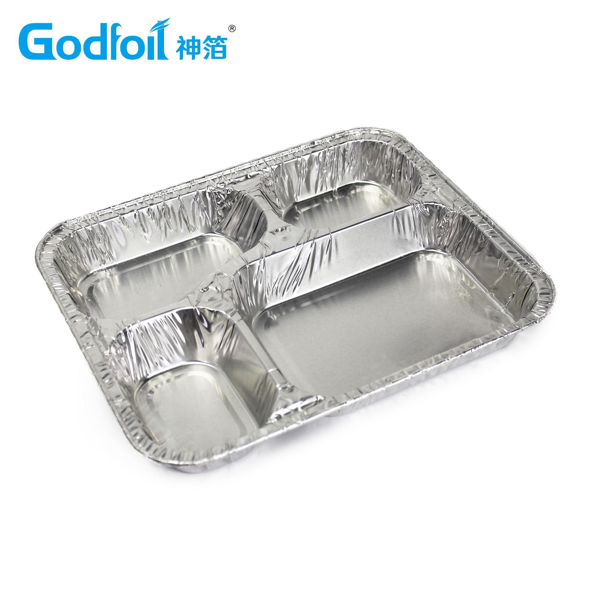 三腔餐盒模具 4