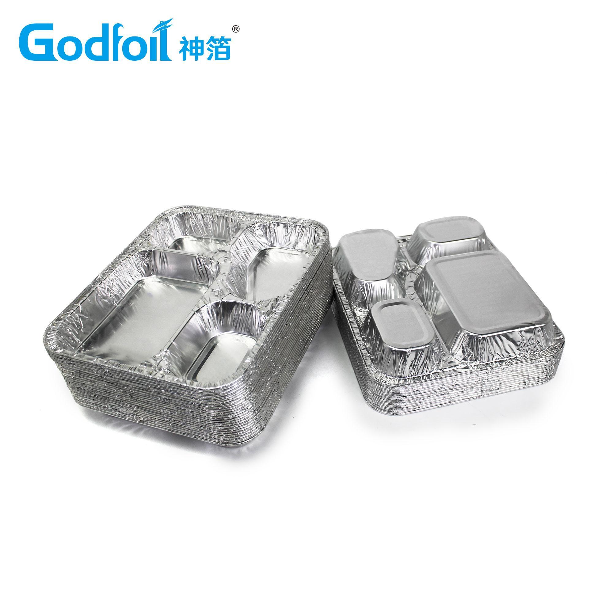 三腔餐盒模具 5