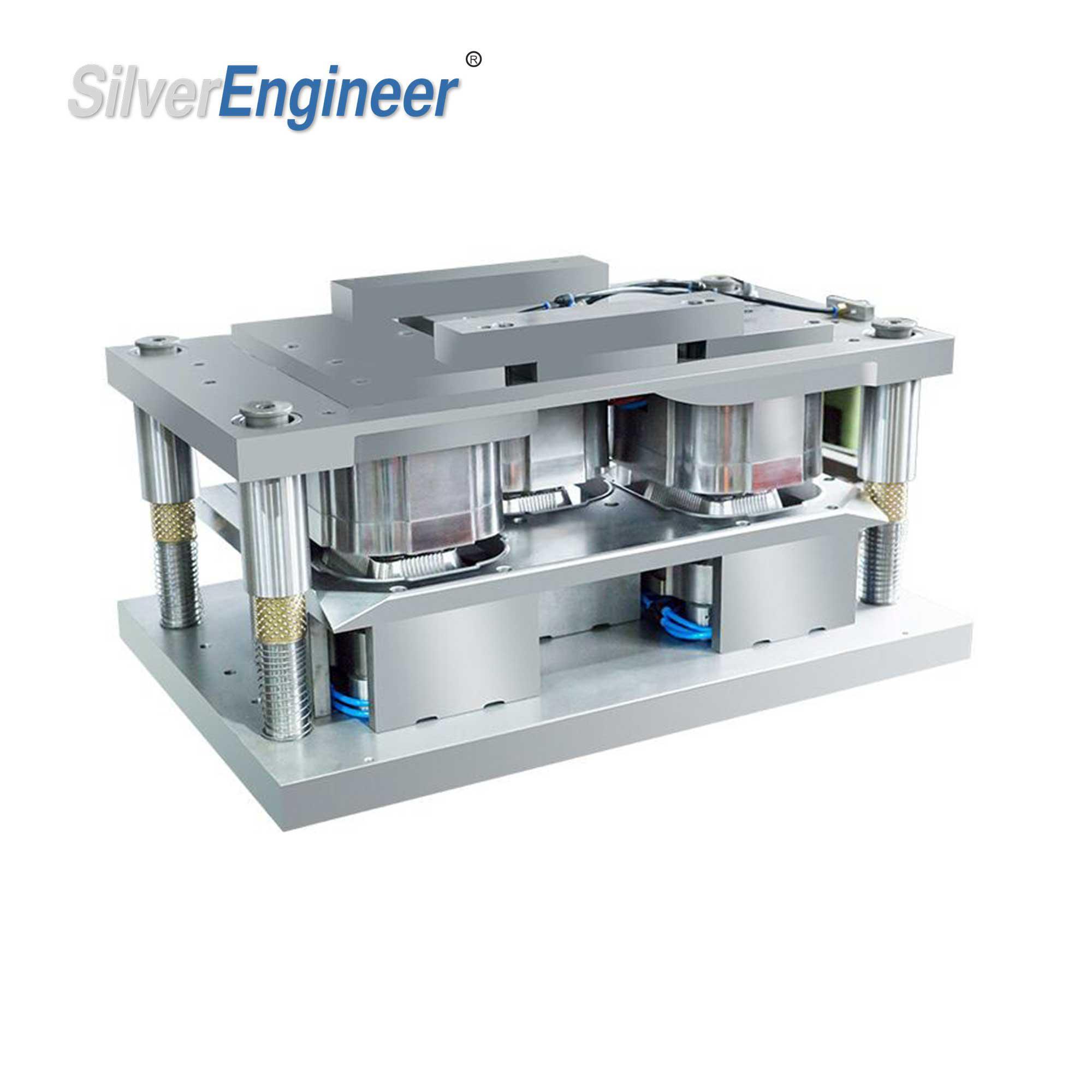 Three Compartment Aluminum Container Mould