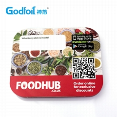 Laminated Paper Lid for Container