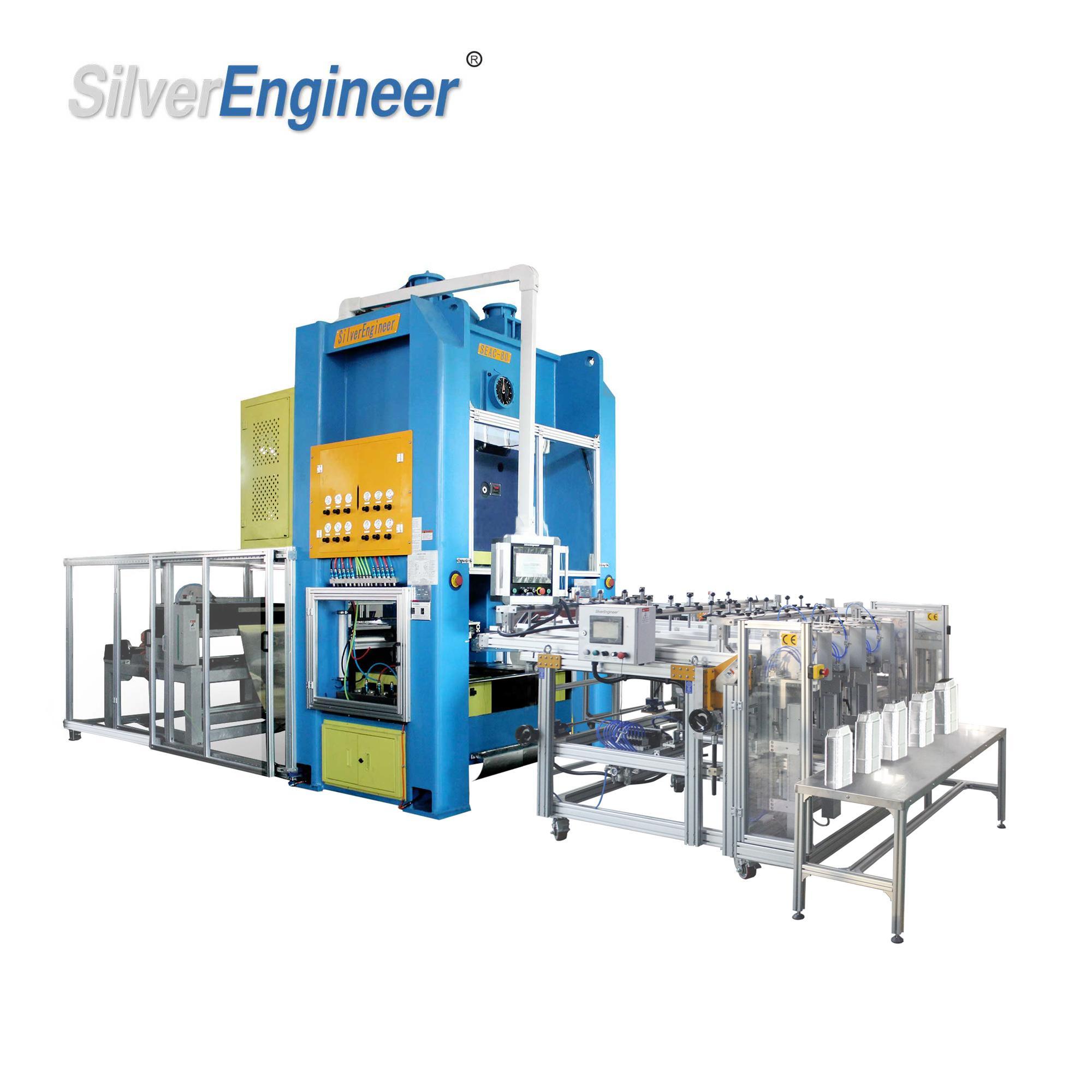 Automatic Aluminium Container Making Machine