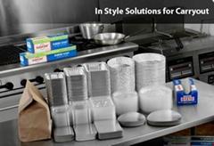 自動鋁箔餐盒生產線
