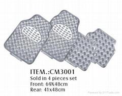 鋁膜汽車腳墊