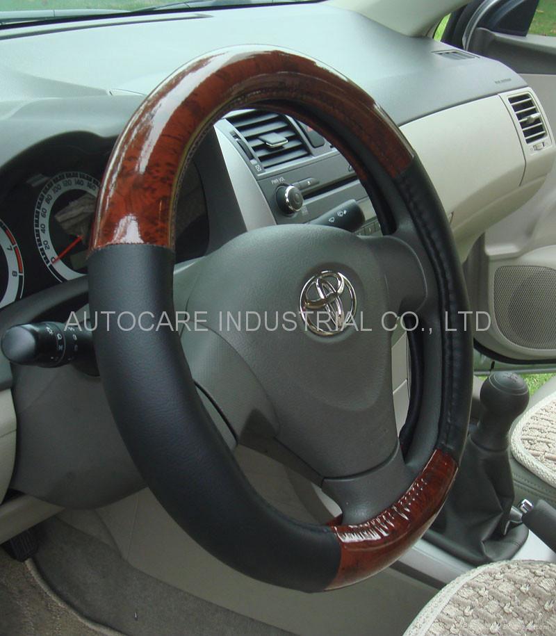 Steering wheel cover 1
