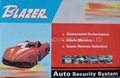 One Way Car Alarm System with Remote