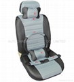 Soft car seat cover