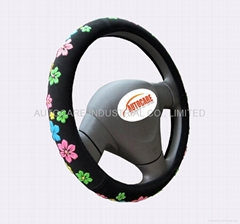 Beautiful steering wheel cover