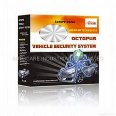 Octopus car alarm system
