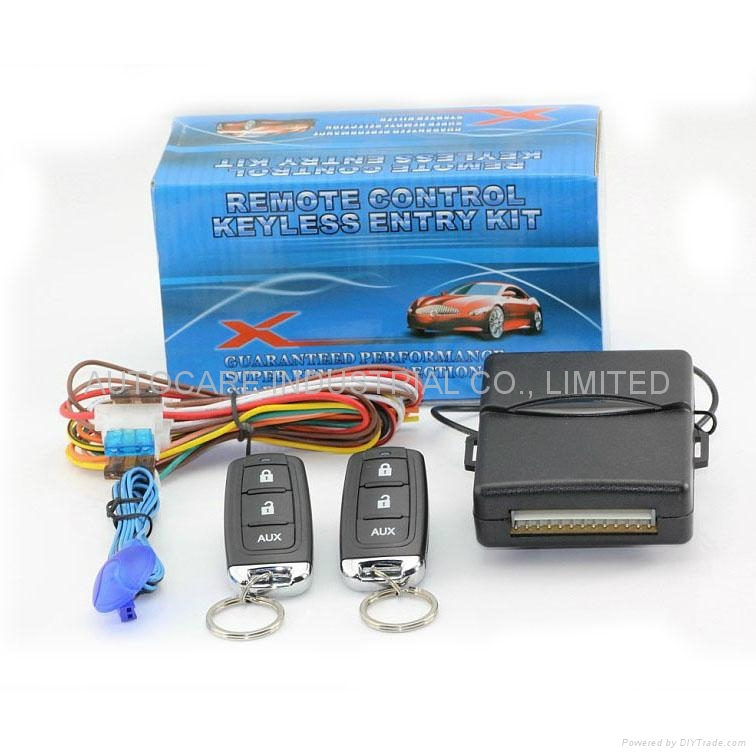 Remote Control Keyless Entry Kit Kd501 Autocare China Manufacturer Car Safety Products