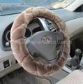 Fur steering wheel cover 1