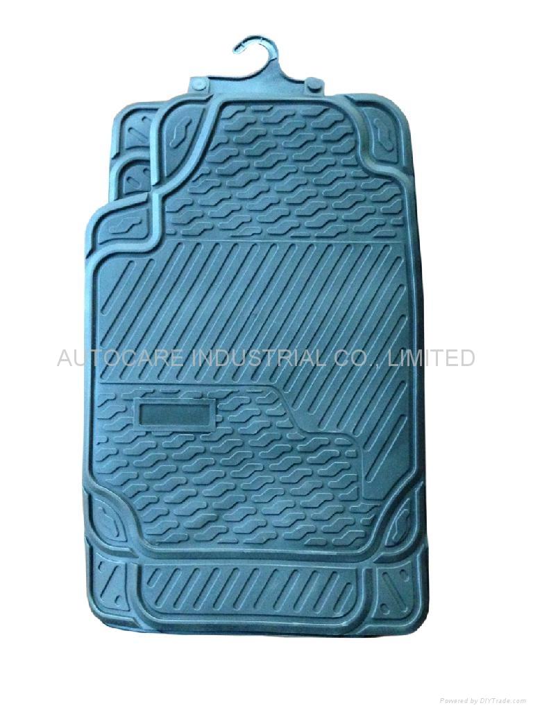 Latest design car mat,2014 fast moving car mat,pvc.tyr car mat