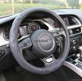 2018 genuine leather car steering wheel cover 2