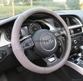 2018 genuine leather car steering wheel cover 3