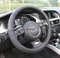 2018 genuine leather car steering wheel cover 7