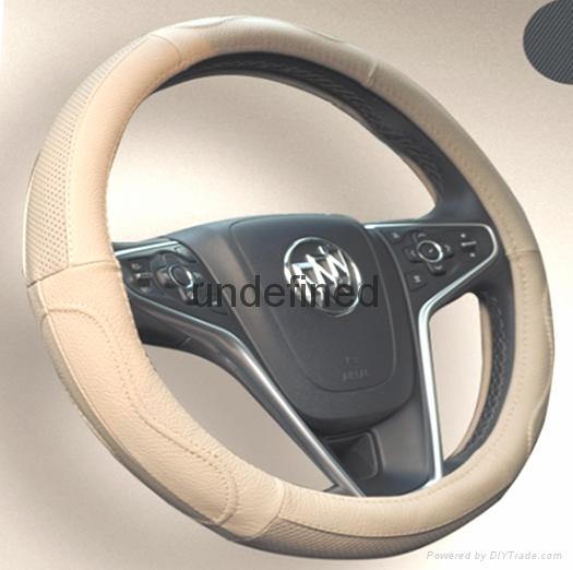 2018 genuine leather car steering wheel cover 8