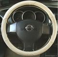 2018 genuine leather car steering wheel cover 10