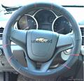 2018 genuine leather car steering wheel cover 12