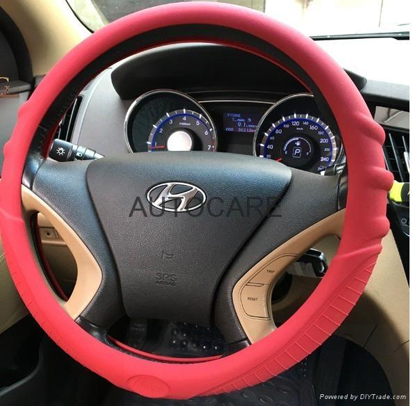 sillicone steering wheel cover sl012 autocare china manufacturer car interior decoration. Black Bedroom Furniture Sets. Home Design Ideas