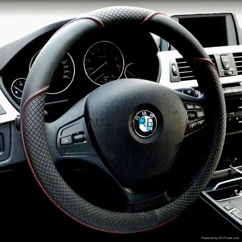 newest design steering wheel cover 1