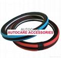 newest design steering wheel cover 6