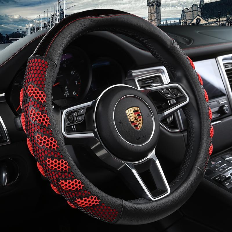 New luxury Steering wheel cover 5