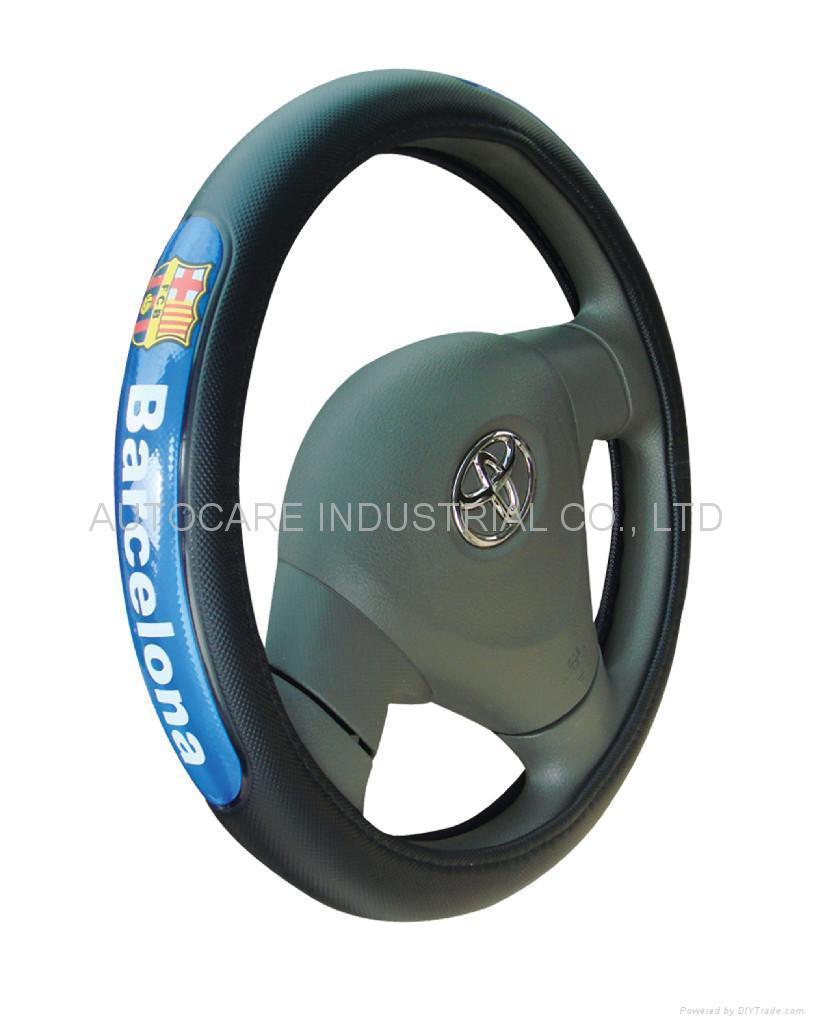 football club steering wheel cover