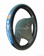 football club steering wheel cover