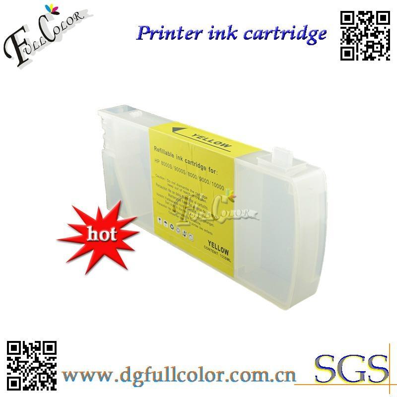 优质厂商供应 惠普 HP Designjet 9000s 10000s 填充墨盒 墨盒 5