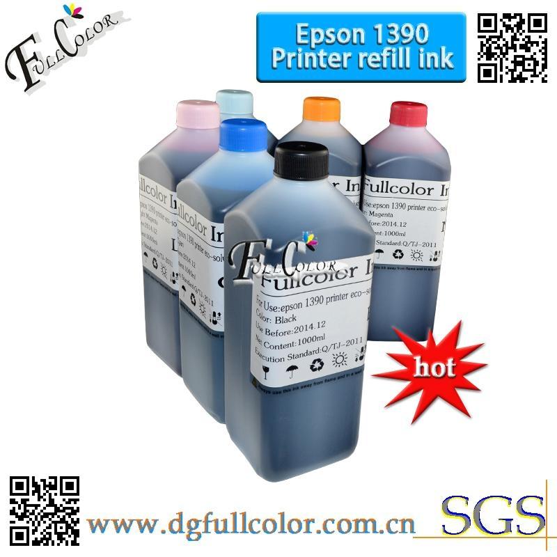 1290 1390弱溶剂墨水   平板机专用弱溶剂   墨水 4