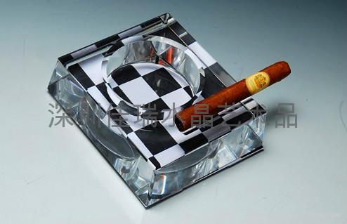 定做水晶烟灰缸 4