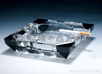 定做水晶烟灰缸 1